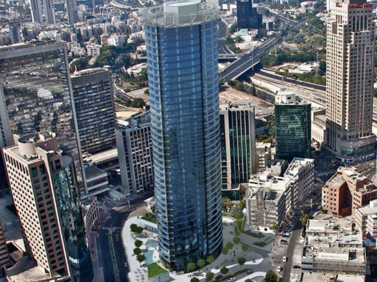 מגדל ספיר רמת גן - בורג בטון BT