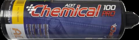 עוגן כימי (דבק אפוקסי) מסוג AC100Pro עם תקן אירופאי ETA למוטות הברגה ולמוט ברזל/קוצים לבטון סדוק ולא סדוק