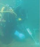 נמל אשדוד - התקנת עוגן כימי דבק אפוקסי תת ימי