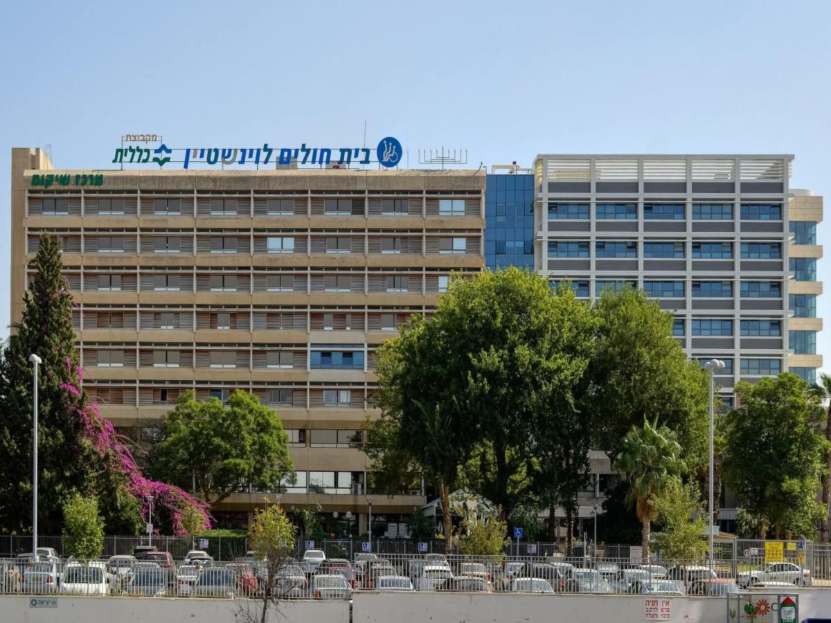 בית חולים בית לוינשטיין - עיגון קירות מסך עם בורג בטון BT