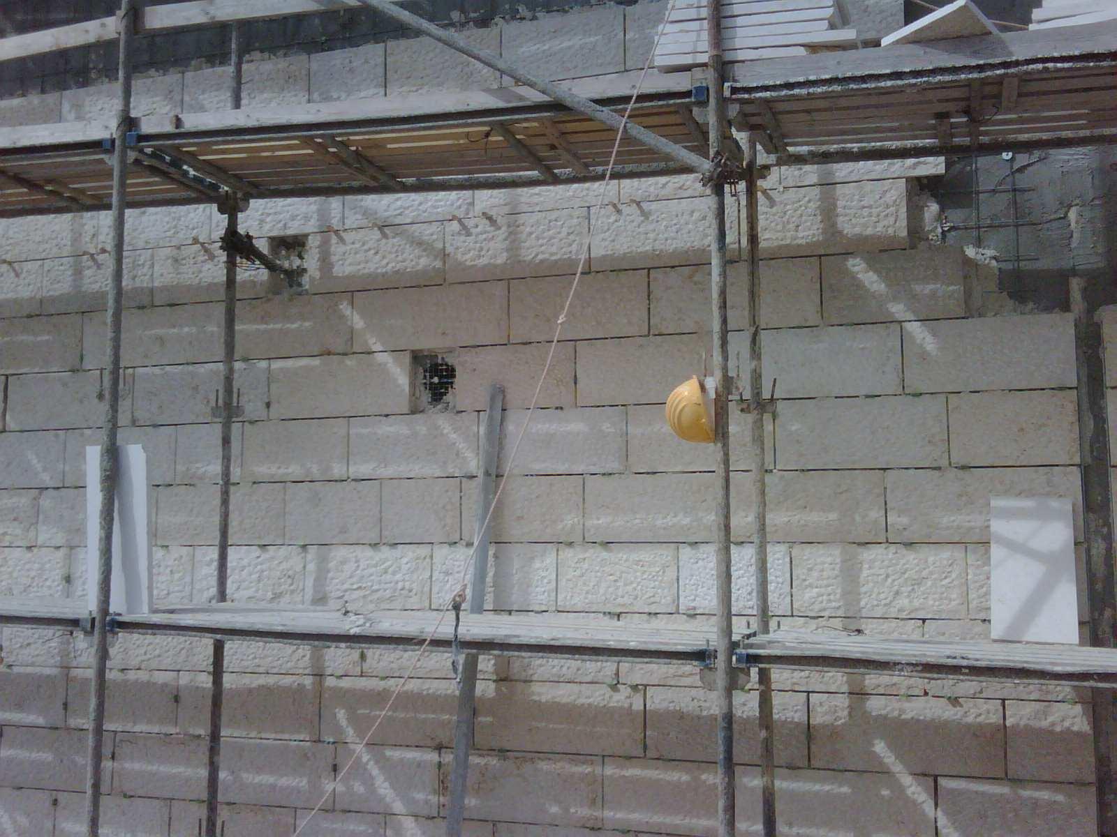 מפעל נייר מודיעין בסט - עיגון חיפוי אבן רטוב עם בורג בטון PS ועוגן חץ ASA-G
