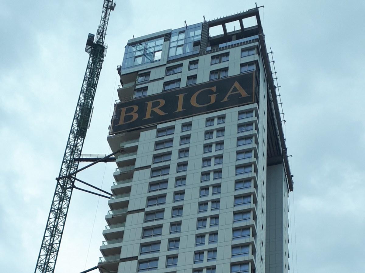 Briga Towers - עיגון חיבורים לעבודות בגובה עם עוגן נקבה לספיינקריט HC