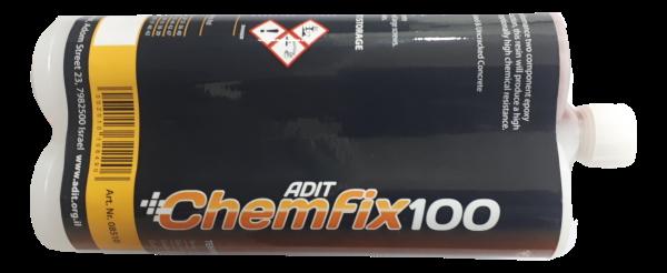 עוגן דיבל כימי דבק אפוקסי Chemfix100 בעל תקן אירופאי לבטון סדוק
