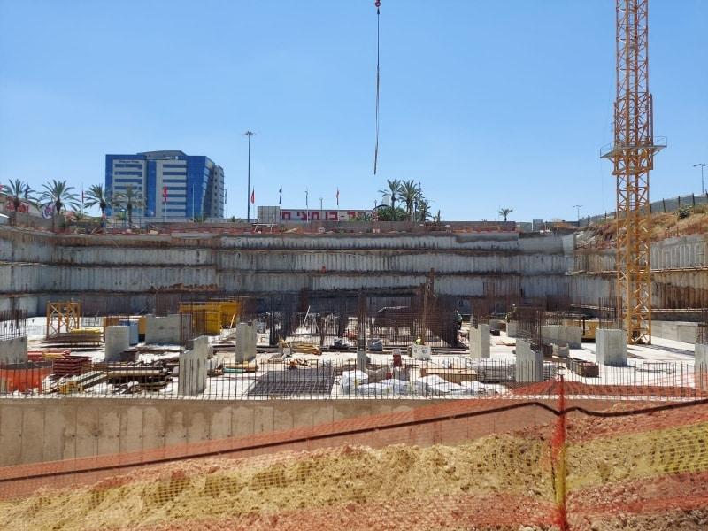 פרויקט בסר ראשונים - עיגון כימי, ברגי בטון לתבניות ולעוגן בטיחות